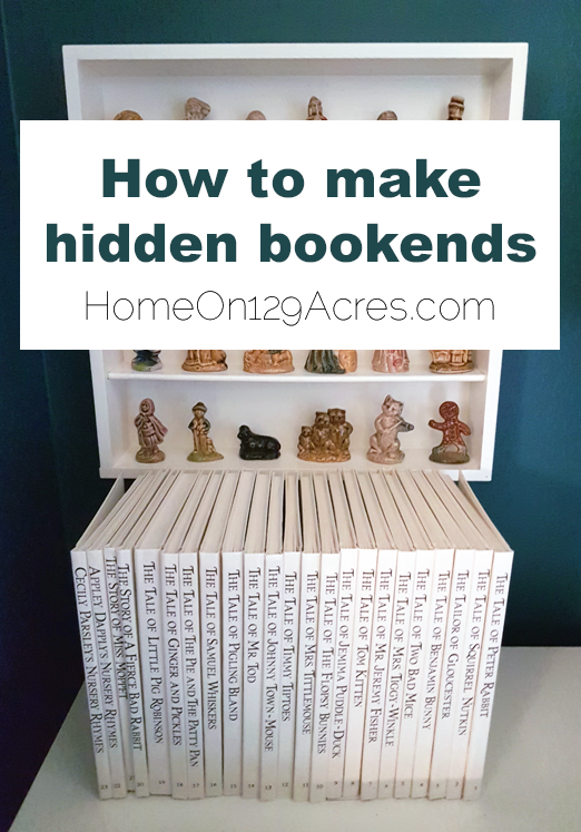 How to make hidden bookends