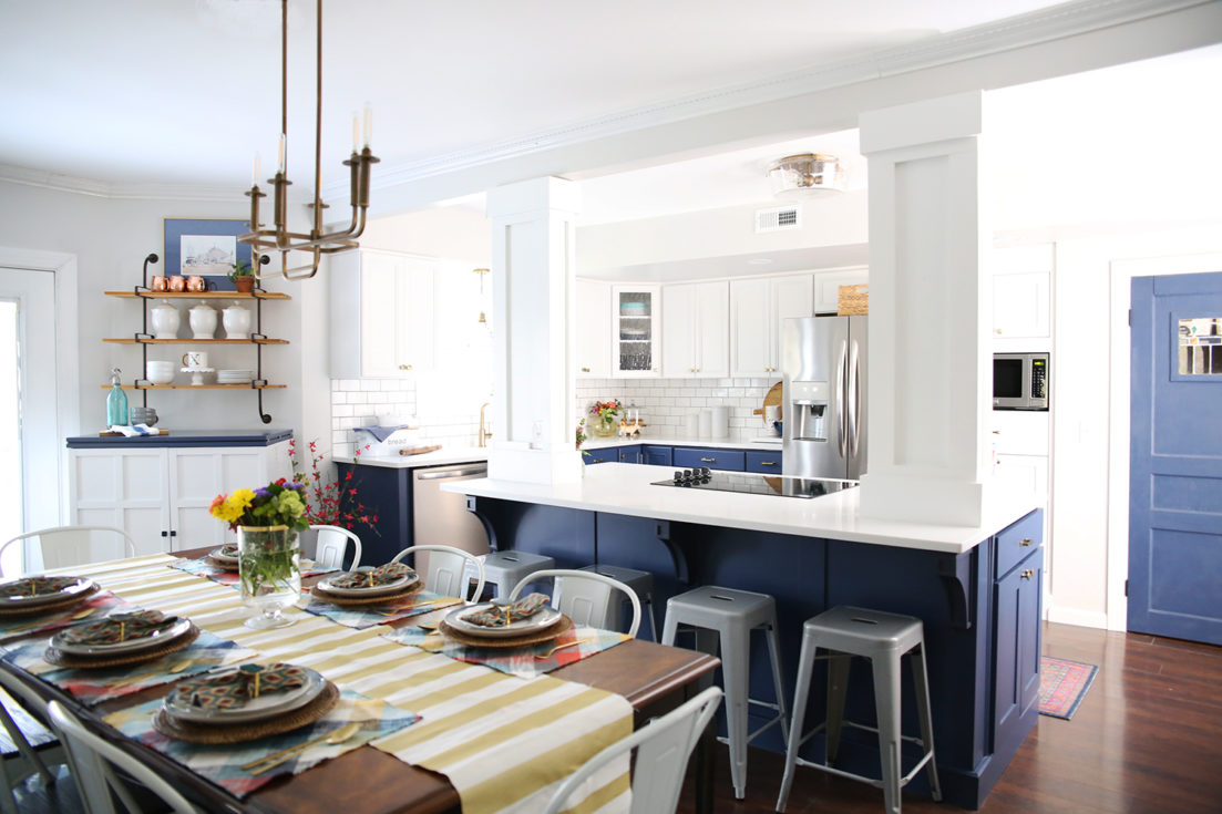 Kitchen refresh by The Handmade Home