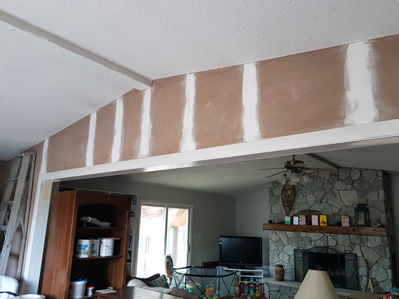 Patching cracks in drywall