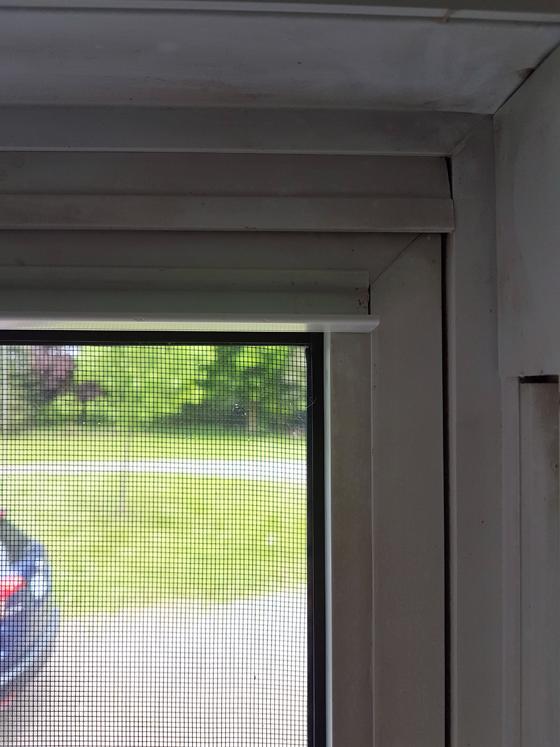 Repairing a vinyl window