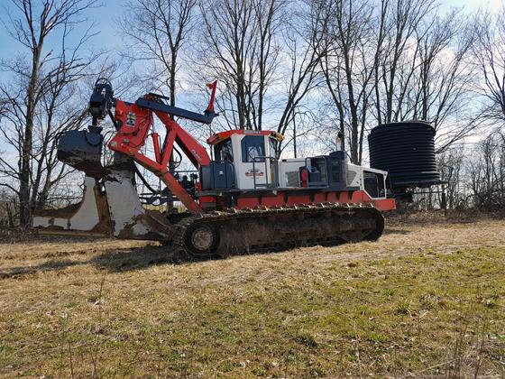 Drainage plow