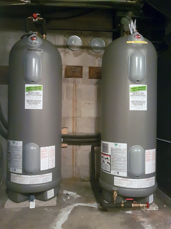 Rheem Marathon hot water heaters