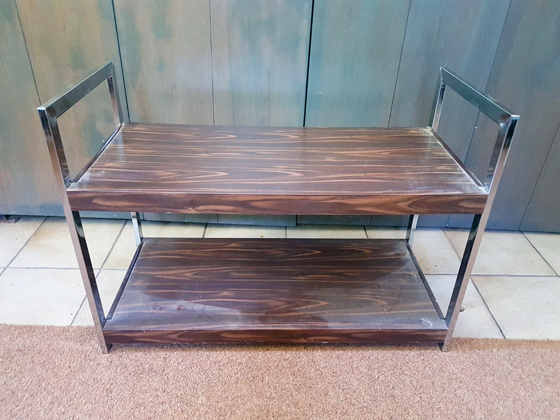 Vintage 70s TV stand